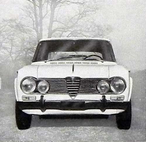 Alfa Romeo GIULIA SUPER (02-1965)