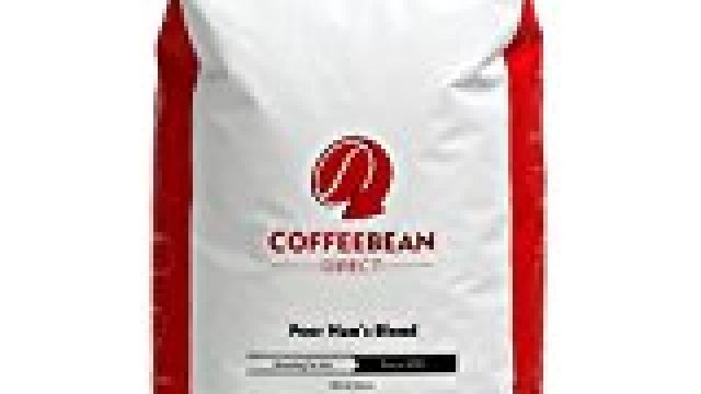 nice Coffee Bean Direct Poor Man's Blend, Whole Bean Coffee, 5-Pound Bag