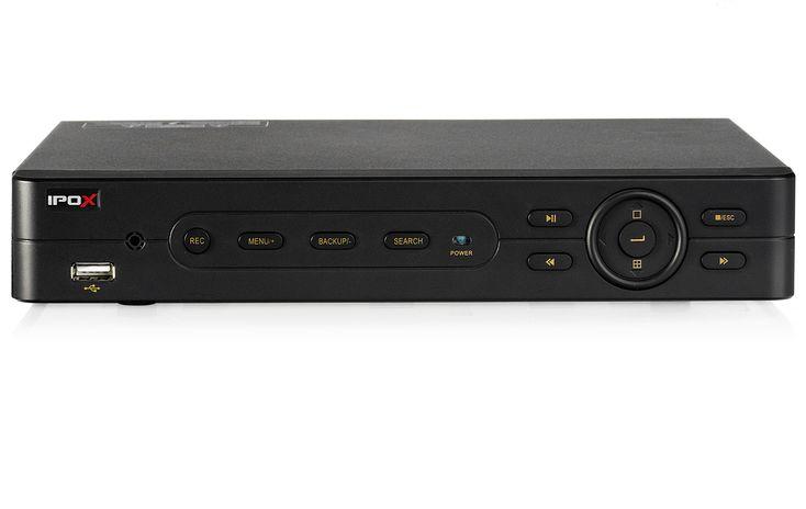 Rejestrator IPOX PX-DVR2304EA | Rejestratory DVR  - 4x analog + 1x IP 1oofps/25fps #cctv #recorder #dvr #hybrid #ipox