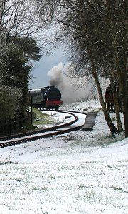 Isle of Wight Steam Railway #isleofwight #winter #steamtrain