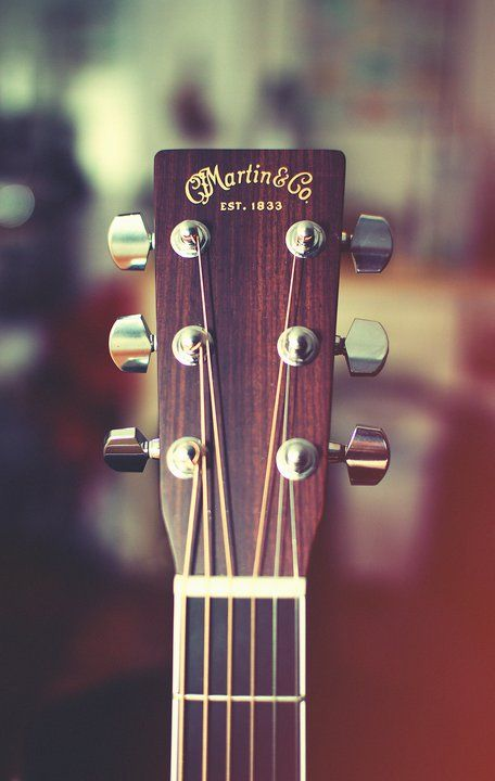 I enjoy listening to and playing guitar! As much as I'd love to own/afford a Martin & Co guitar, I'm afraid I don't! Anyhow, it's my favourite acoustic guitar brand.