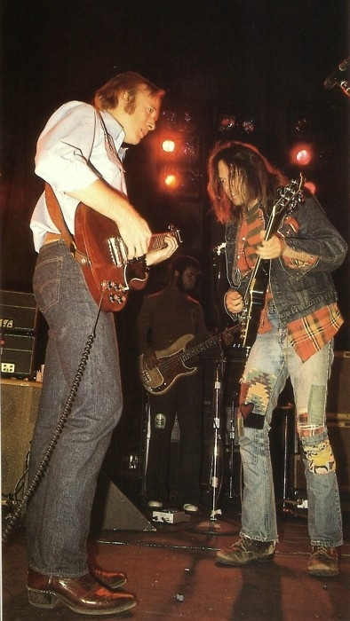 neil young with stephen stills