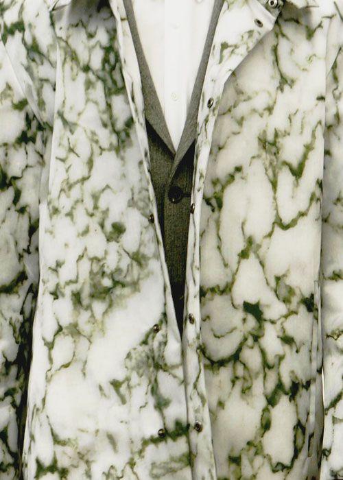 Jil Sander fw08 marble print