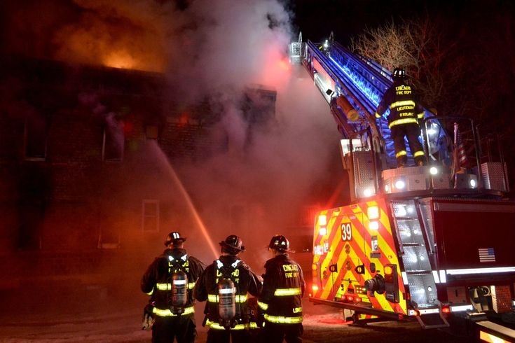 Firefighters put out a second-alarm fire that started Thursday night in the South Side Englewood neighborhood. Crews responded about 11:20 p.m. to the fire in a two-story apartment building in the 6800 block of South Aberdeen, according to Chicago Fire Media Affairs. About 15 minutes later, the department's response had been upgraded to a second alarm.