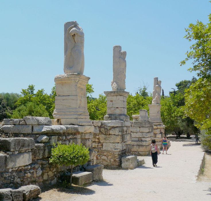 The entrance to the Odeon of Agrippa, Ancient Agora #Athens #KeyTours