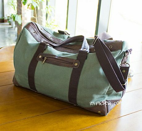 Charles Men's Duffle Bag PDF Pattern - New Release Sale! �0Off!
