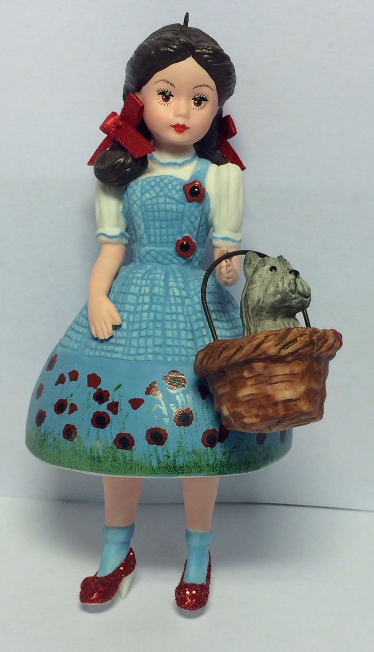 Wizard of oz christmas decorations uk - Madame Alexander Wizard Of Oz Dorothy In The Poppy Fields Hallmark 2014 Poppy Fieldschristmas Stuffchristmas Ornamentschristmas