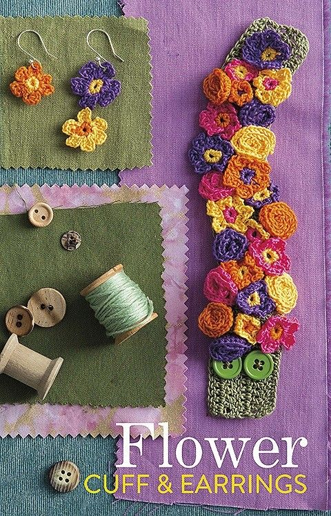 Artisan Crochet Jewelry 9 Easy Stylish Accents In Thread