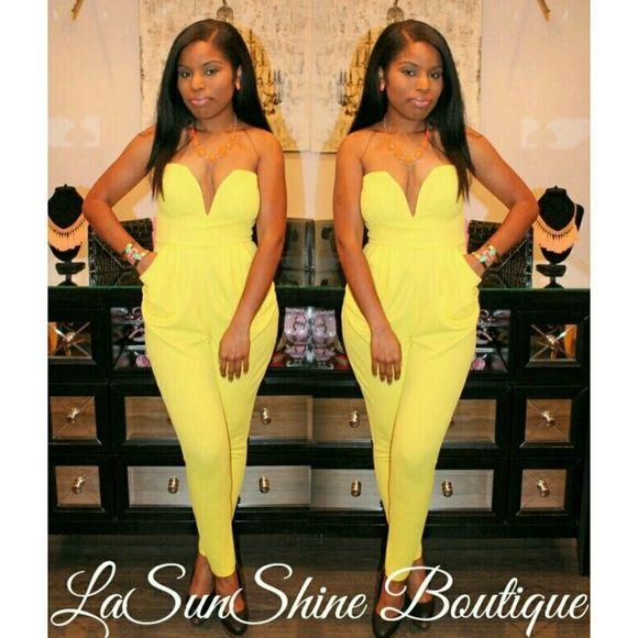 yellow dress formal jumpsuit