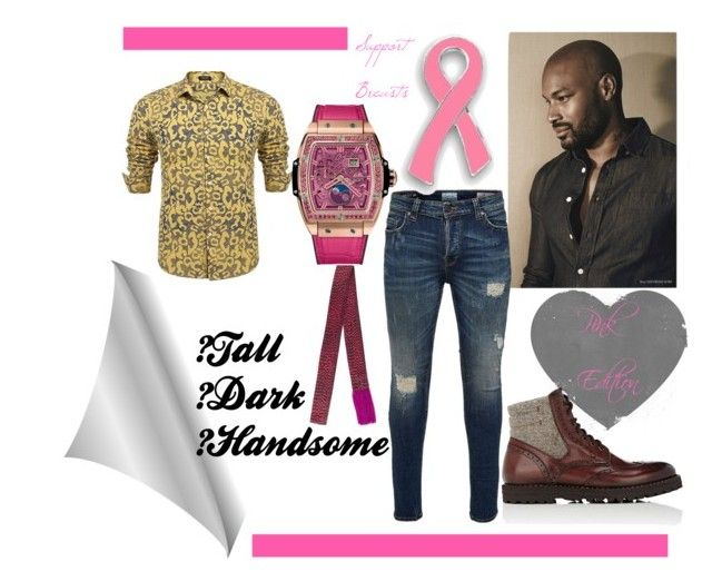 """""""Tall, Dark, & Handsome"""" by mikewatts ❤ liked on Polyvore featuring Only & Sons, Hublot, Franceschetti, Haider Ackermann, men's fashion, menswear, masculine, Pinkedition and BecauseEverydayWeFight"""