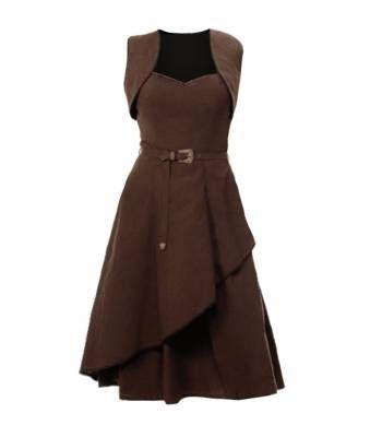 Платье с болеро в стиле Стимпанк | Готическая одежда, стимпанк одежда, лолита стайл, одежда для готов, рок одежда, cosplay одежда, готический магазин, рок магазин