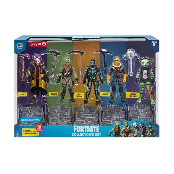 Fortnite Collector S Set Action Figure 5pk Action Figures Game