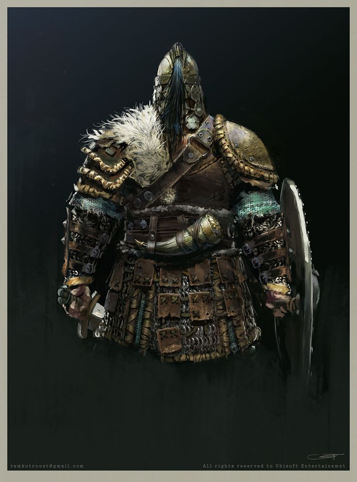 ArtStation - For Honor Viking Warlord, Remko Troost