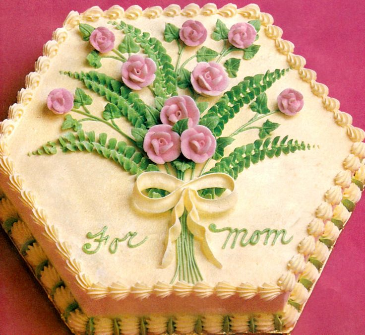 Cake Designs Mother S Day : Mothers Day Cake Sweet Cakes Pinterest