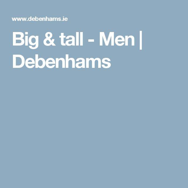 Big & tall - Men | Debenhams