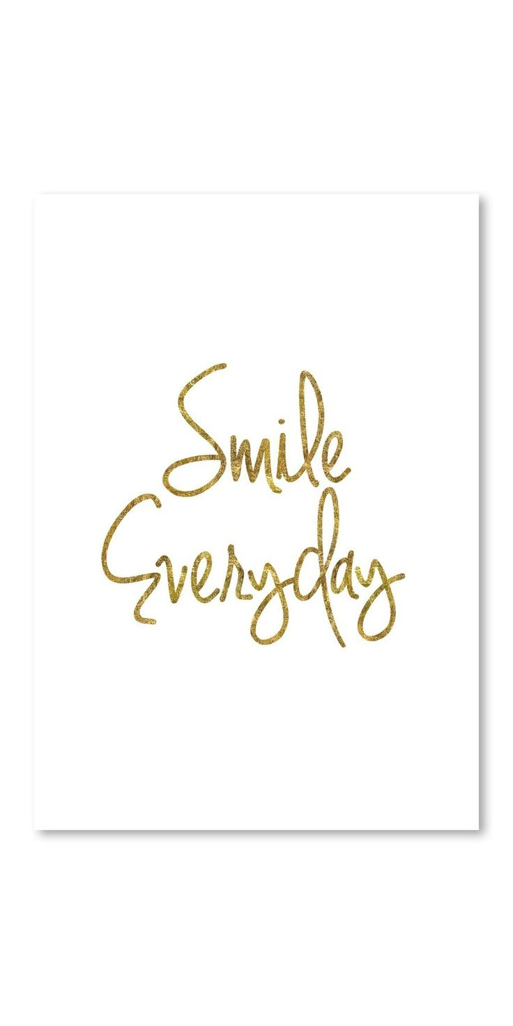 Poster Smile Everyday