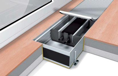 Внутрипольные отопительные конвекторы Mohlenhoff WSK Артикул: WSK 180-90-1000 Внутрипольные конвекторы отопления с естественной конвекцией Mohlenhoff WSK (без вентилятора).