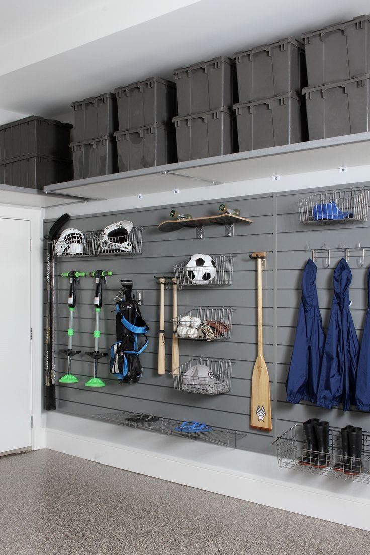 do it yourself garage storage- click the pic for lots of garage