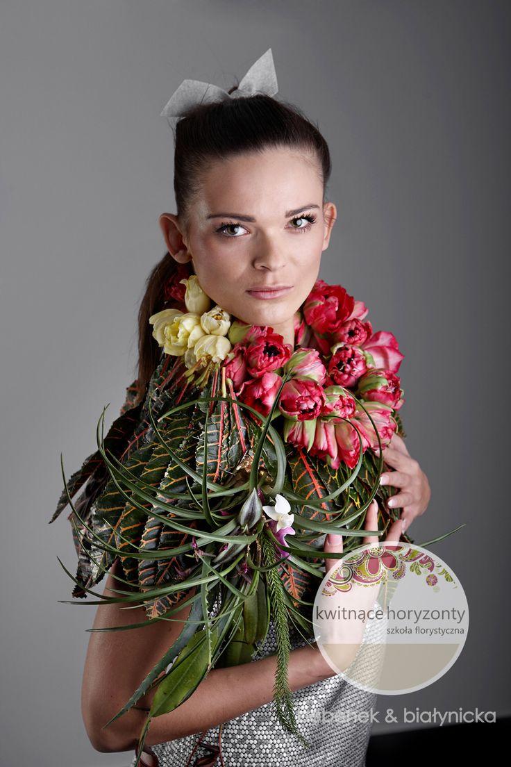 bębenek&białynicka Kwitnące Horyzonty - szkoła florystyczna, pokaz mody: Gardenia Special Days (Poznań 2015) Fot. Marcin Chruściel