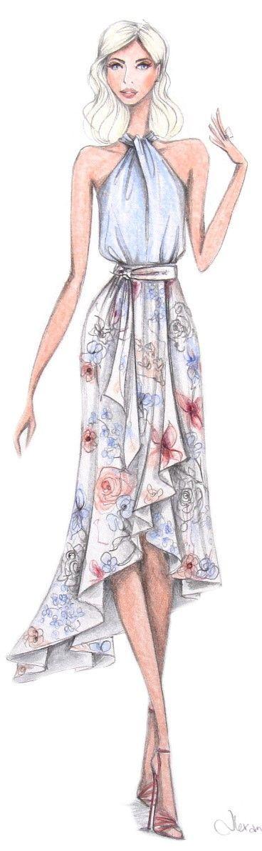 alexandra nea fashion illustration