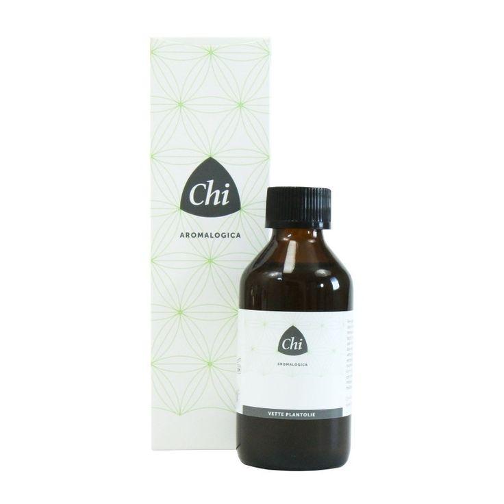 Chi biologische Zoete amandelolie voor de droge, schilferige huid en bij luieruitslag.   Huidverzorgend en herstellend.