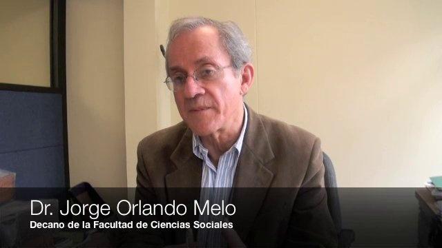 Académicos reflexionan alrededor del tema de la paz by boletin.UJTL. El Dr. Jorge Orlando Melo, Decano de la Facultad de Ciencia Sociales, explicó la importancia que tiene participar en el III Foro Colombiano de Construcción de Paz que se realizará el próximo 14 de marzo en el Auditorio Fabio Lozano.