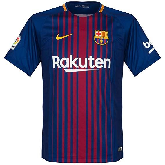 Amazon.com   NIKE Barcelona Home Messi Jersey 2017 2018 (Official Printing)    Sports   Outdoors 1d2444091685b