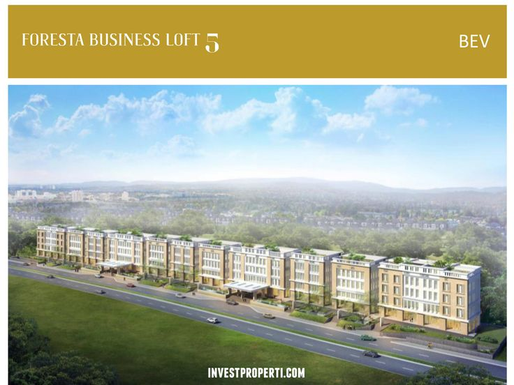 Foresta Business Loft 5 BSD City