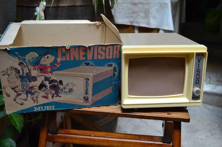 MUPI CINE VISOR anni 70 da revisionare con Box