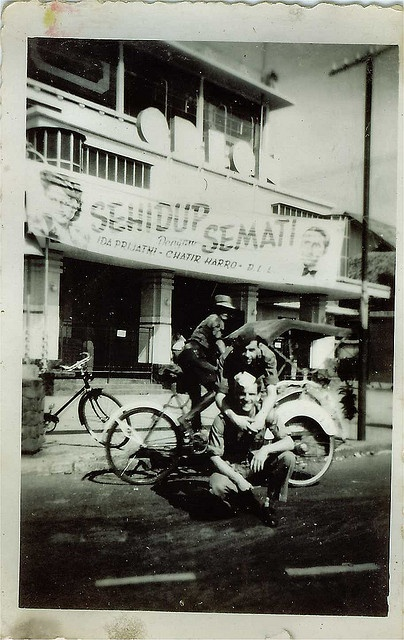 Willy van Bergen, Batavia (Jakarta) 1949-1950 by saskia.vanbergen, via Flickr