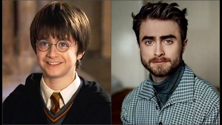 Гарри Поттер. Актеры тогда и сейчас