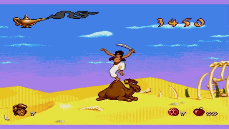 Aladdin Genesis stream test/ rage quit