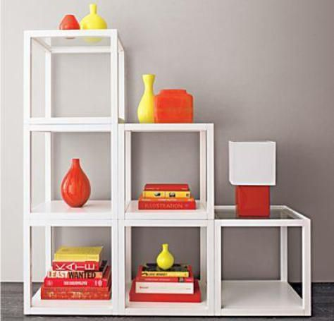 Crate and barrel mimic cube