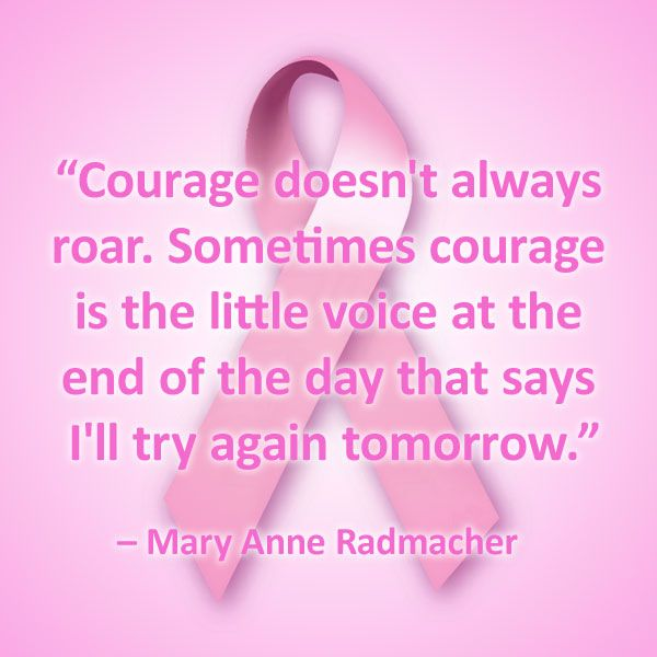 11 breast cancer quotes to inspire and push forward those battling the disease. #quotes #inspirational