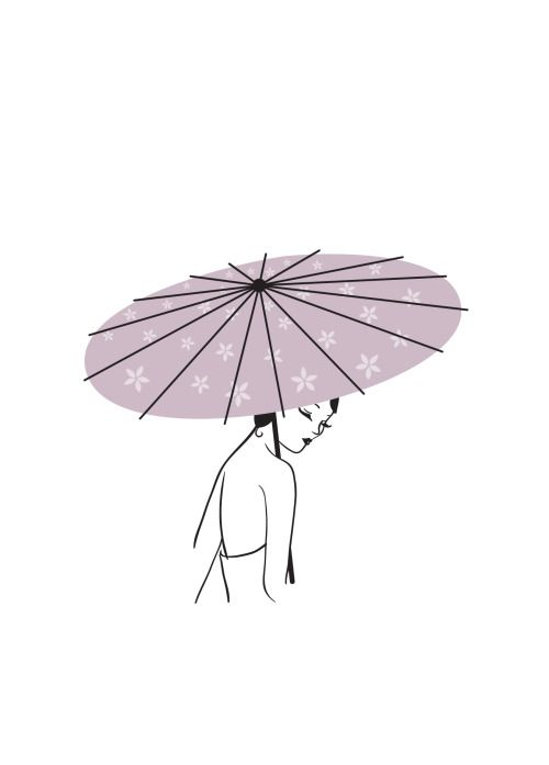 Geisha for Onform sketches by Garavatito