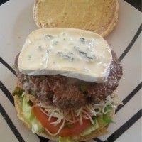recette de cuisine hamburger au fromage bleu