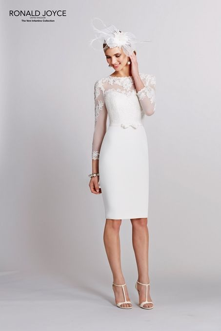 This is the one! Perfect courthouse wedding dress.
