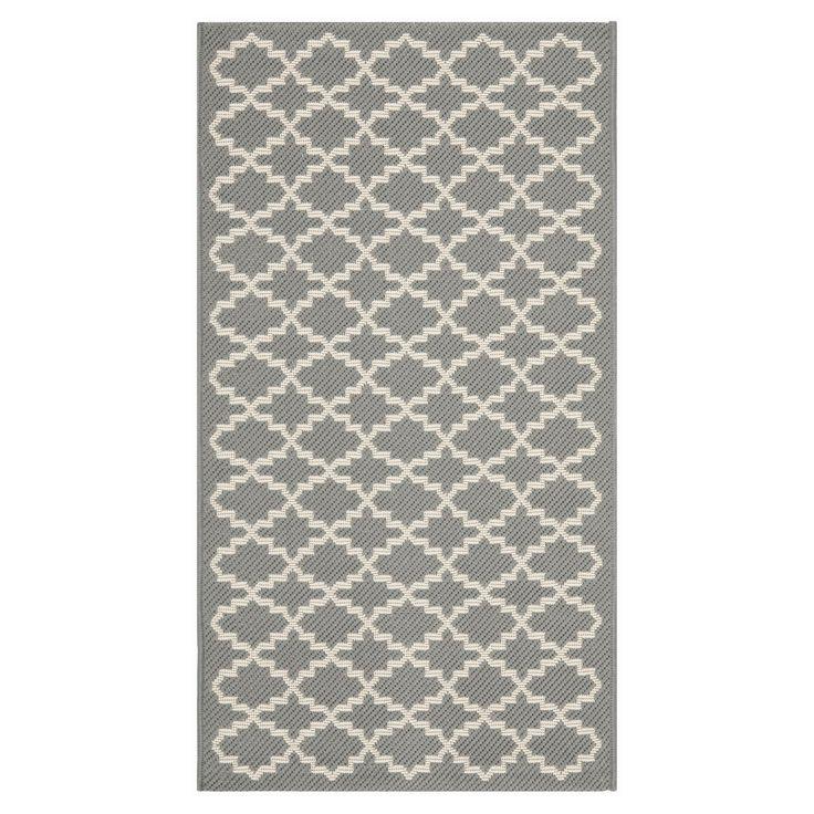 Teppich Gwen - Grau - 78 x 152 cm, Safavieh Jetzt bestellen unter: https://moebel.ladendirekt.de/heimtextilien/teppiche/teppichboden/?uid=73a76789-7da1-5960-9e6f-2af82f6c4fa3&utm_source=pinterest&utm_medium=pin&utm_campaign=boards #accessoires #teppichboden #kurzflorteppiche #heimtextilien #teppiche #safavieh