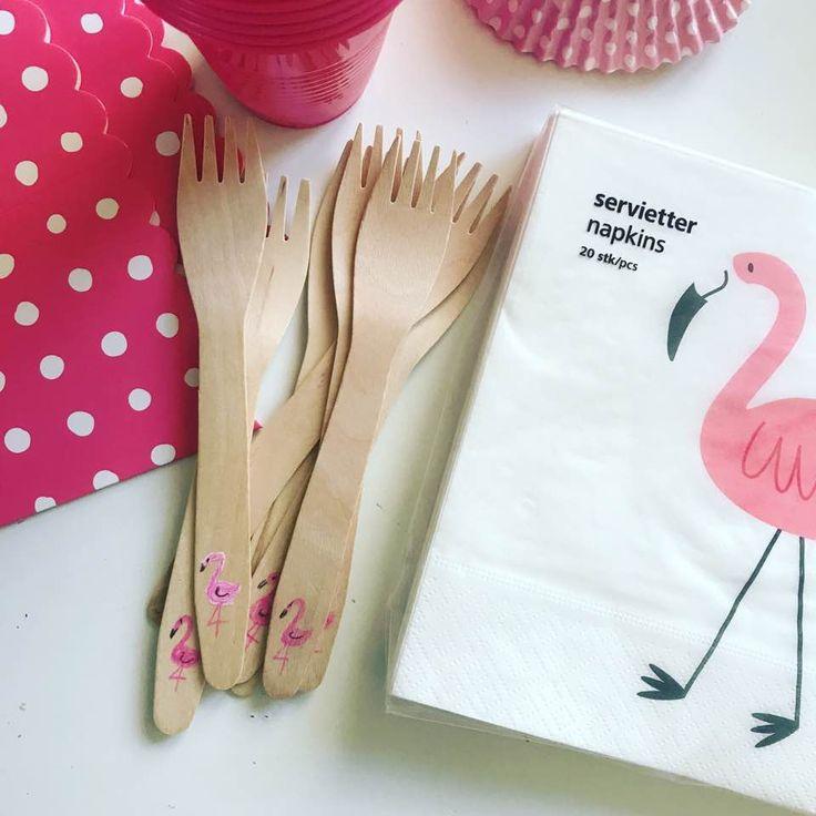 Flamingo birthday party - set
