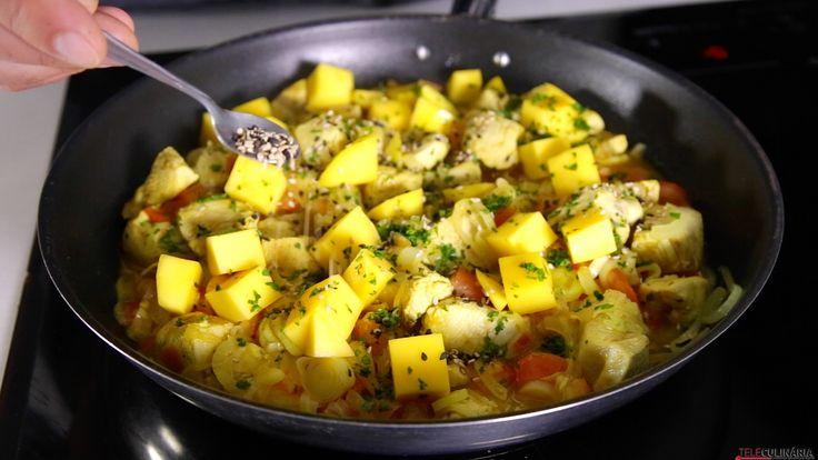 Receita de Frango com sementes de sésamo. Descubra como cozinhar Frango com sementes de sésamo de maneira prática e deliciosa!