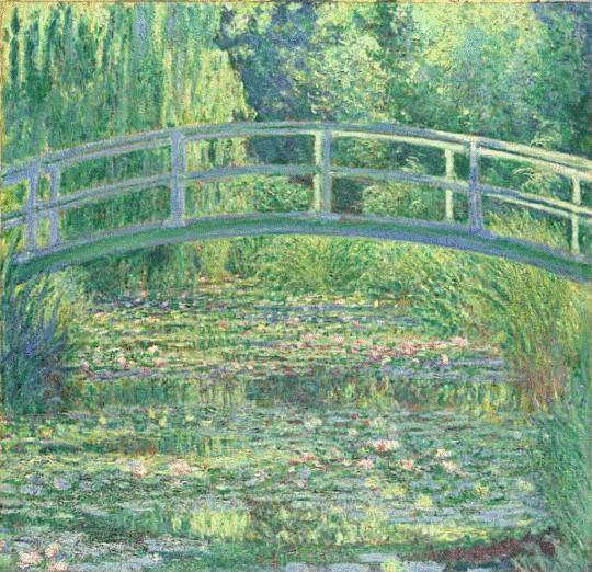 Monet__The_Water_Lily_Pond clip art di quadri_famosi