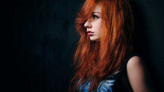 Full HD Wallpaper redhead hairstyle side view long hair tender, Desktop Backgrounds HD 1080p