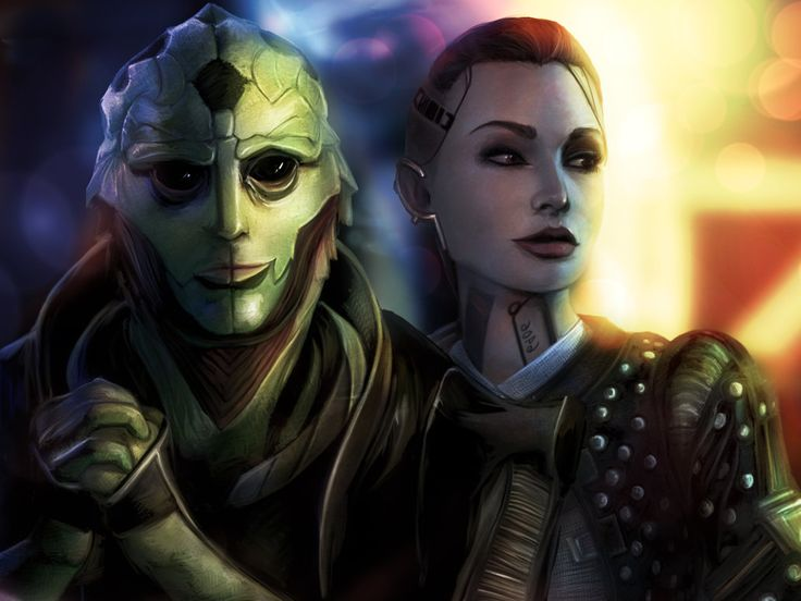 Thane and Jack by ~BoyGTO