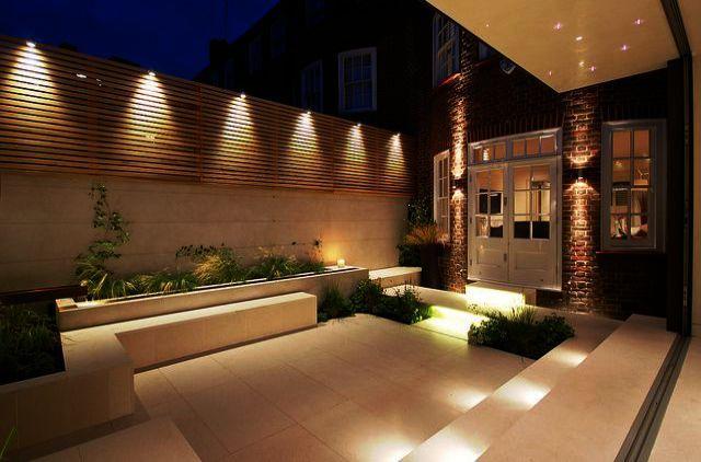 Garden Lighting Ideas South Africa. Simple Garden Lighting Ideas Because Outdoor Lighting… | Small Courtyard Gardens, Courtyard Gardens Design, Diy Outdoor Lighting