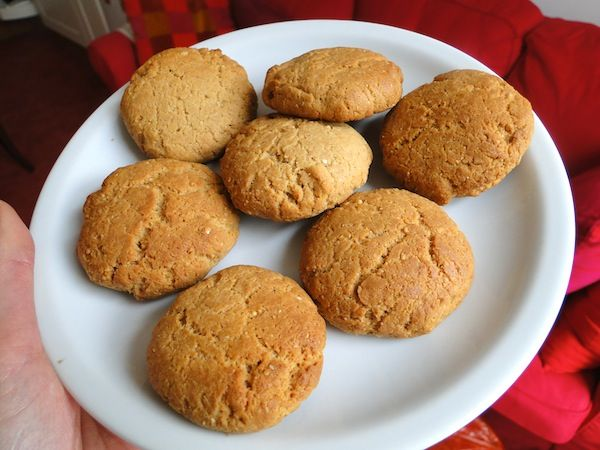 biscuits beurre de cacaouetes