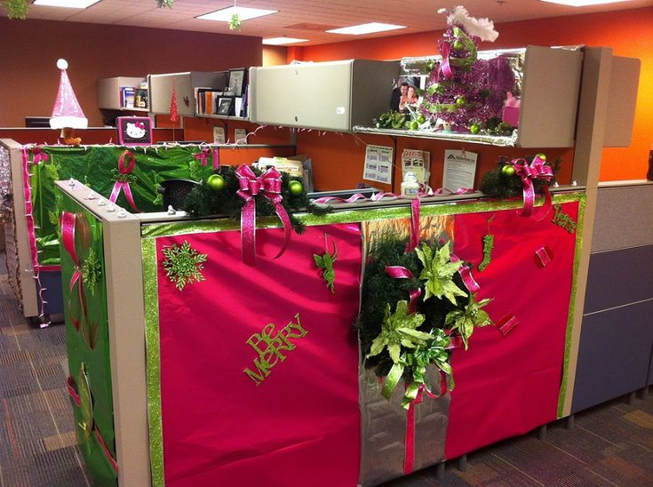Best 25 Office christmas decorating themes ideas on Pinterest