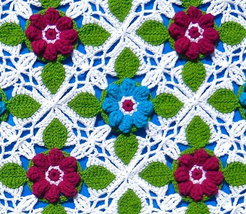 Ravelry: Love Blooms Block pattern by Artisan loops