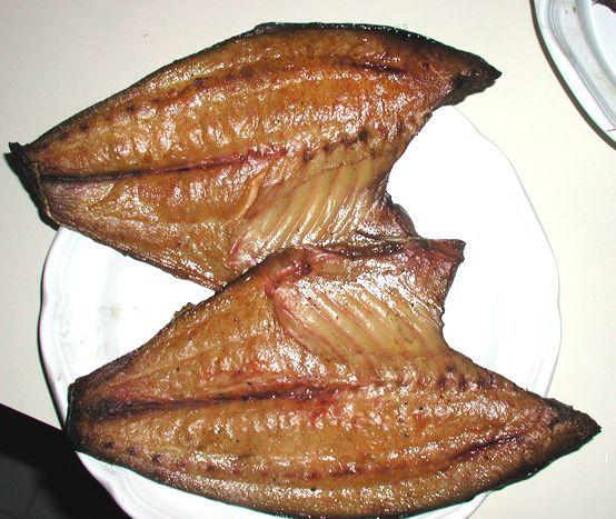 Brined and Smoked Fish