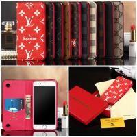 ルイヴィトン モノグラム GALAXY S8/S8plusケース手帳型 iphone7/7plusケース グッチ iphone6s/6splusカバー 高級レザー supreme