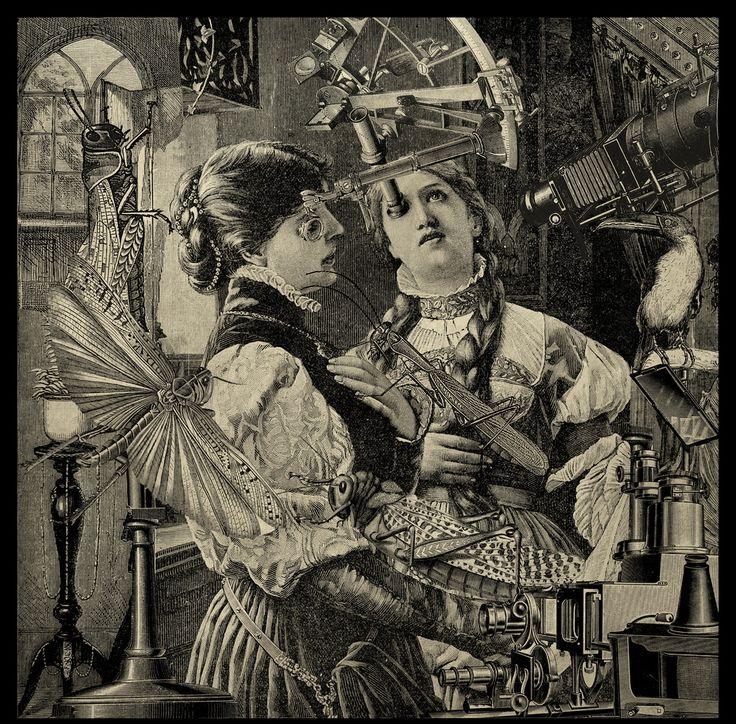 """Max Ernst. Residuum Erucae Comedit Lucusta, """"The Grasshopper Lies Heavy"""" (Joel 1:4). 1920s."""